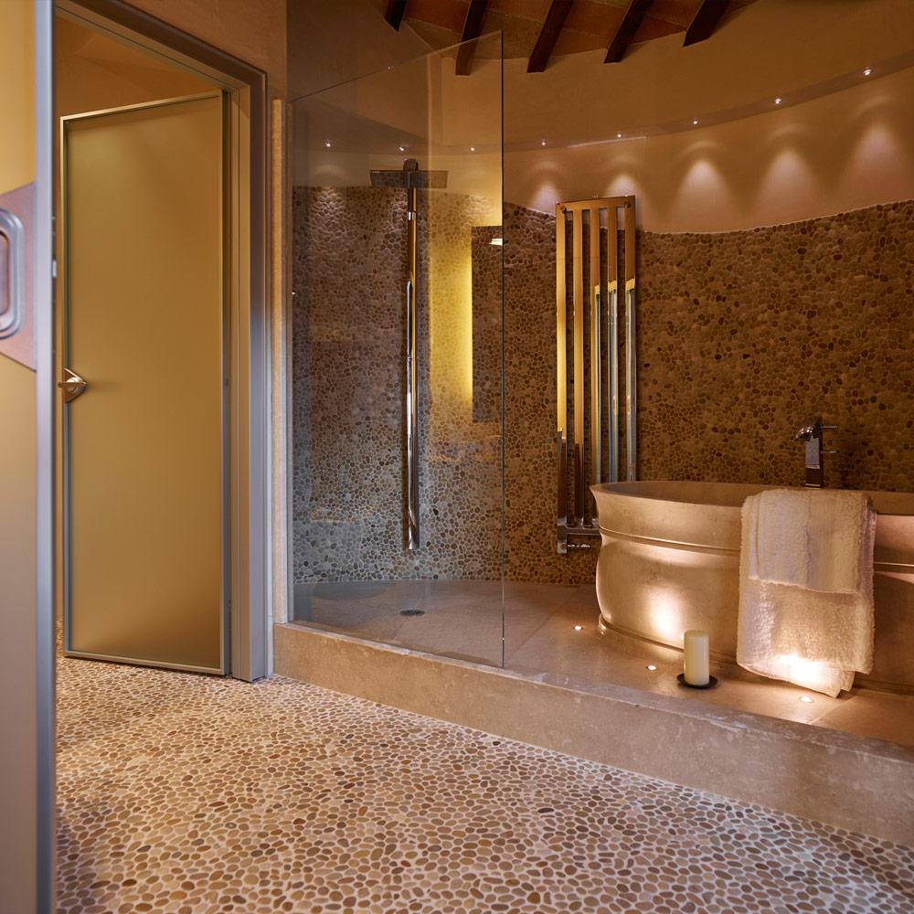 I sassi di assisi marmi e pietre per l 39 ambiente bagno e wellnes - Piatto doccia sassi ...